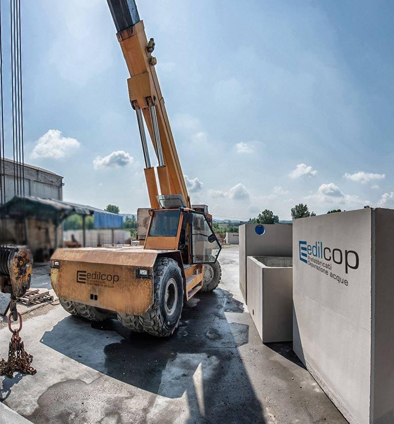 Edilcop - Prefabbricati trattamento e depurazione acque