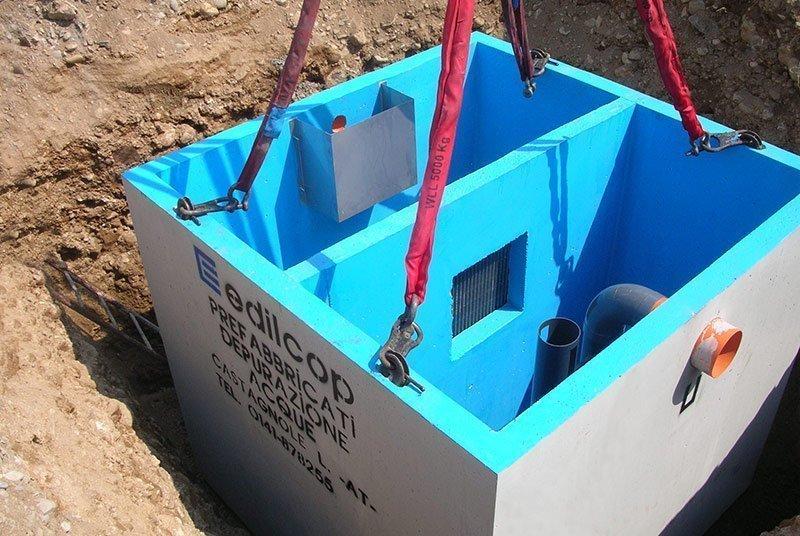 Impianti per trattamento acque di pioggia - Edilcop
